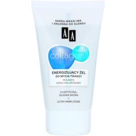AA Cosmetics Collagen HIAL+ Energie-Reinigungsgel 30+  150 ml