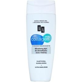 AA Cosmetics Collagen HIAL+ apa pentru  curatare cu particule micele pe fata si ochi  200 ml