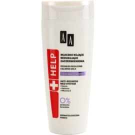 AA Cosmetics Help Dilated Capillaries nyugtató testápoló tej Érzékeny, bőrpírra hajlamos bőrre  200 ml