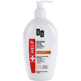 AA Cosmetics Help Dry and Rough Skin SOS Balsam mit feuchtigkeitsspendender Wirkung  300 ml