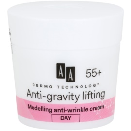 AA Cosmetics Dermo Technology Anti-Gravity Lifting crème stylisante anti-rides 55+  50 ml