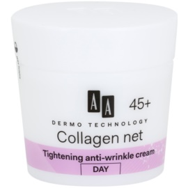 AA Cosmetics Dermo Technology Collagen Net Builder denní liftingový krém 45+  50 ml