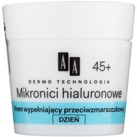 AA Cosmetics Dermo Technology Hyaluronic Microthreads  vyplňující denní krém proti vráskám 45+  50 ml