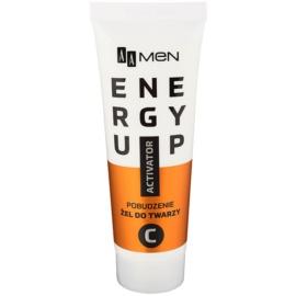AA Cosmetics Men Energy Up energiát adó gél az arcra  50 ml
