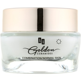 AA Cosmetics Golden Ceramides Anti-Wrinkle Day Cream  with Matte Effect  50 ml