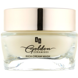 AA Cosmetics Golden Ceramides Renewing Cream Mask With Gold  50 ml