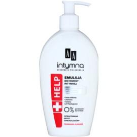 AA Cosmetics Help Intimate emulzia na intímnu hygienu pre ochranu pred infekciami  300 ml