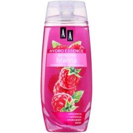 AA Cosmetics Hydro Essence Raspberry vyživující sprchový gel  250 ml