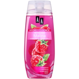 AA Cosmetics Hydro Essence Raspberry tápláló tusoló gél  250 ml