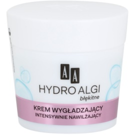 AA Cosmetics Hydro Algae Blue intenzív hidratáló krém a bőröregedés első jeleinek eltüntetésére  50 ml