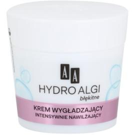 AA Cosmetics Hydro Algae Blue krem intensywnie nawilżający przeciw pierwszym oznakom starzenia skóry  50 ml
