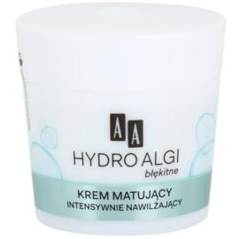 AA Cosmetics Hydro Algae Blue matující krém s hydratačním účinkem  50 ml