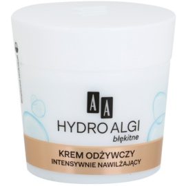 AA Cosmetics Hydro Algae Blue Nourishing Moisturiser For Perfect Skin  50 ml