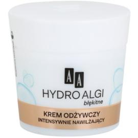 AA Cosmetics Hydro Algae Blue výživný a hydratační krém pro dokonalou pleť  50 ml
