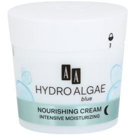 AA Cosmetics Hydro Algae Blue Moisturizing And Nourishing Cream  50 ml