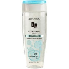 AA Cosmetics Hydro Algae Blue frissítő tonik hidratáló hatással  200 ml