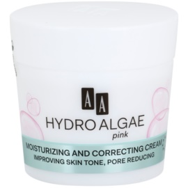 AA Cosmetics Hydro Algae Pink Colour Correcting Cream for Hydration and Pore Minimizing  50 ml