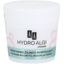 AA Cosmetics Hydro Algae Pink hydratační krém pro vyhlazení pleti a minimalizaci pórů  50 ml