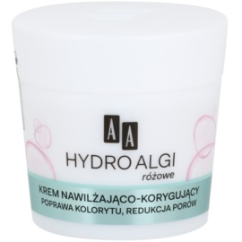AA Cosmetics Hydro Algae Pink crema hidratanta pentru netezirea pielii si inchiderea porilor  50 ml