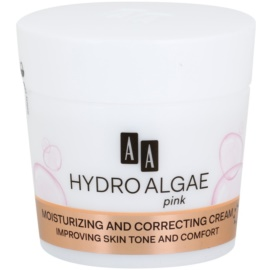 AA Cosmetics Hydro Algae Pink sjednocující krém s hydratačním účinkem  50 ml
