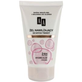 AA Cosmetics Hydro Algae Pink зволожуючий очищаючий гель  150 мл
