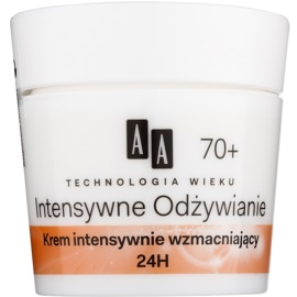 AA Cosmetics Age Technology Intensive Nutrition Crema de restaurare pentru a reduce ridurile 70+  50 ml