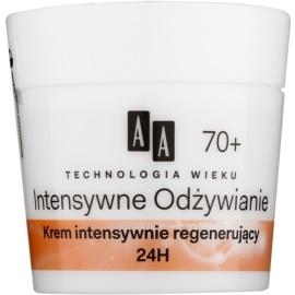 AA Cosmetics Age Technology Intensive Nutrition regenerační pleťový krém proti vráskám 70+  50 ml