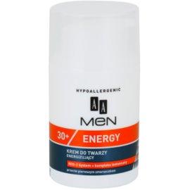 AA Cosmetics Men Energy 30+ hidratáló arckrém a bőröregedés első jeleinek eltüntetésére  50 ml
