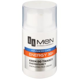 AA Cosmetics Men Energy 30+ creme energizante para rosto  50 ml