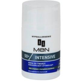 AA Cosmetics Men Intensive 50+ crema remodelatoare cu efect lifting  50 ml