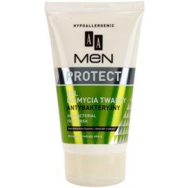 AA Cosmetics Men Protect почистващ гел  антибактериален  150 мл.