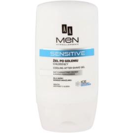 AA Cosmetics Men Sensitive hűsítő gél borotválkozás után  100 ml
