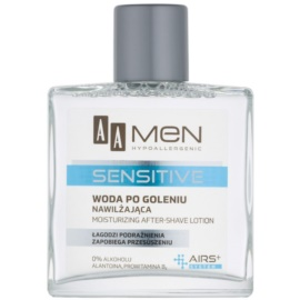 AA Cosmetics Men Sensitive Aftershave Water With Moisturizing Effect  100 ml
