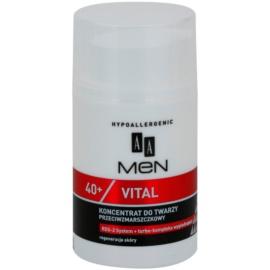 AA Cosmetics Men Vital 40+ protivráskové sérum s regeneračním účinkem  50 ml