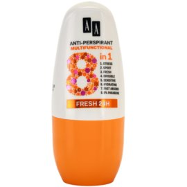 AA Cosmetics Multifunctional Fresh 24H Antitranspirant-Deoroller 8 in 1  50 ml