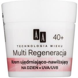 AA Cosmetics Age Technology Multi Regeneration hydratační a zpevňující denní krém proti vráskám 40+  50 ml
