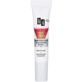 AA Cosmetics MezzoLaser crème lissante yeux effet illuminateur 40+  15 ml