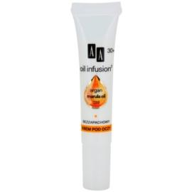 AA Cosmetics Oil Infusion2 Argan Marula 30+ oční protivráskový krém s hydratačním účinkem Koenzym Q10 15 ml