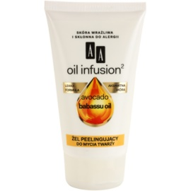 AA Cosmetics Oil Infusion2 Avocado Babassu reinigendes Peeling-Gel  150 ml