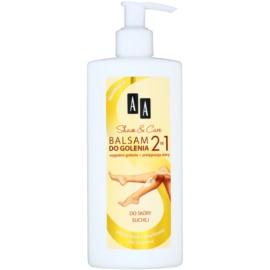 AA Cosmetics Shave & Care borotválkozás utáni balzsam száraz és érzékeny bőrre  250 ml