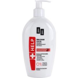 AA Cosmetics Help Sensitive and Very Dry Skin SOS nyugtató balzsam regeneráló hatással  300 ml