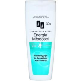 AA Cosmetics Age Technology Youthful Vitality apa de fata cu particule micele 30+  200 ml