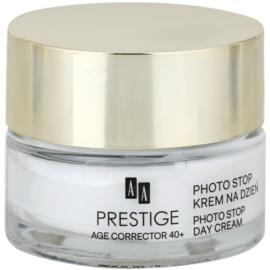 AA Prestige Age Corrector 40+ védőkrém a bőröregedés ellen SPF 15  50 ml