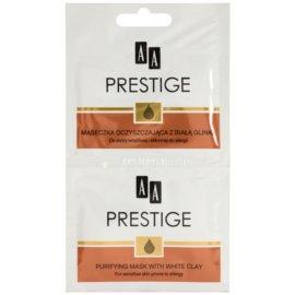 AA Prestige Age Corrector 40+ pórusösszehúzó tisztító arcmaszk a túlzott faggyú termelődés ellen  10 ml
