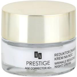 AA Prestige Age Corrector 40+ Nachtcreme gegen Falten  50 ml