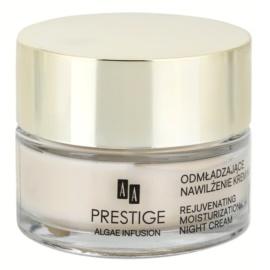 AA Prestige Algae Infusion éjszakai fiatalító krém hidratáló hatással  50 ml