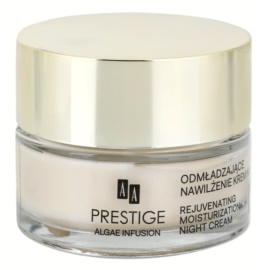 AA Prestige Algae Infusion crema de noapte pentru reintinerire cu efect de hidratare  50 ml