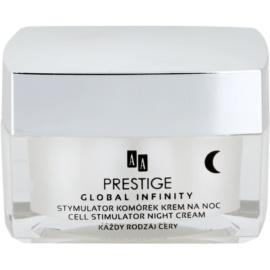 AA Prestige Global Infinity noční krém proti předčasnému stárnutí pleti  50 ml
