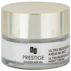 AA Prestige Golden Age 60+ intenzív éjszakai krém regeneráló hatással  50 ml