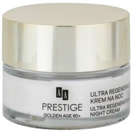 AA Prestige Golden Age 60+ intensive Nachtcreme mit regenerierender Wirkung  50 ml